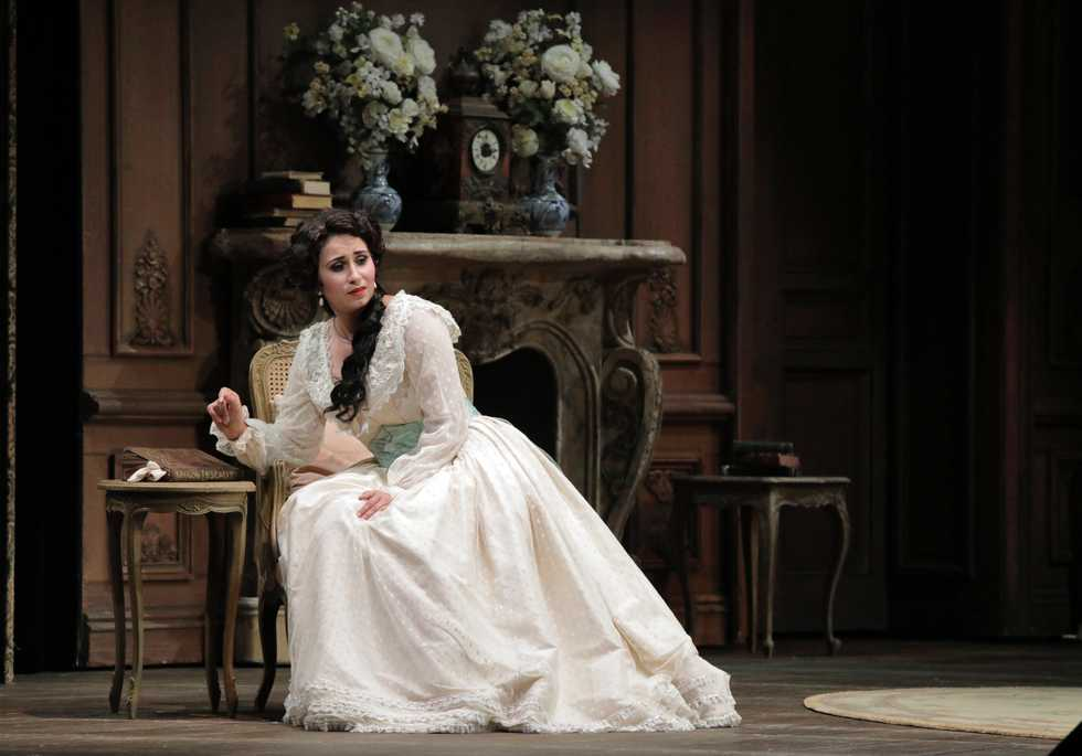 A scene from the San Francisco Opera production of La Traviata.