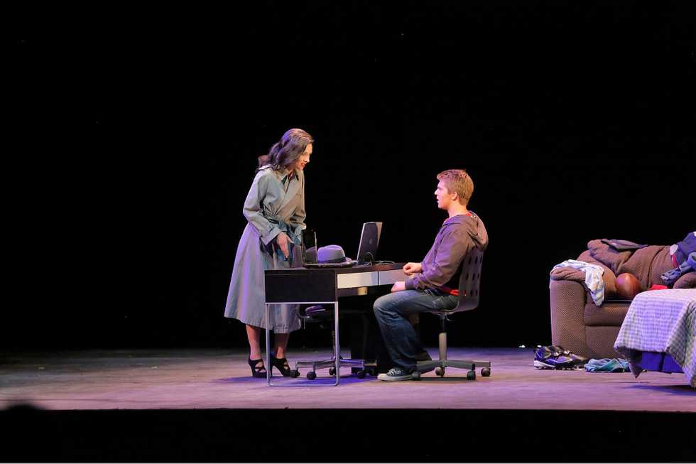 A scene from the Santa Fe Opera production of Two Boys (Scenes).