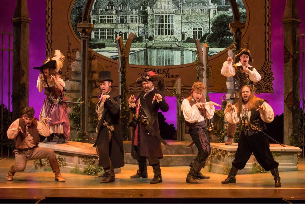 A scene from the Skylight Music Theatre production of Pirates of Penzance.