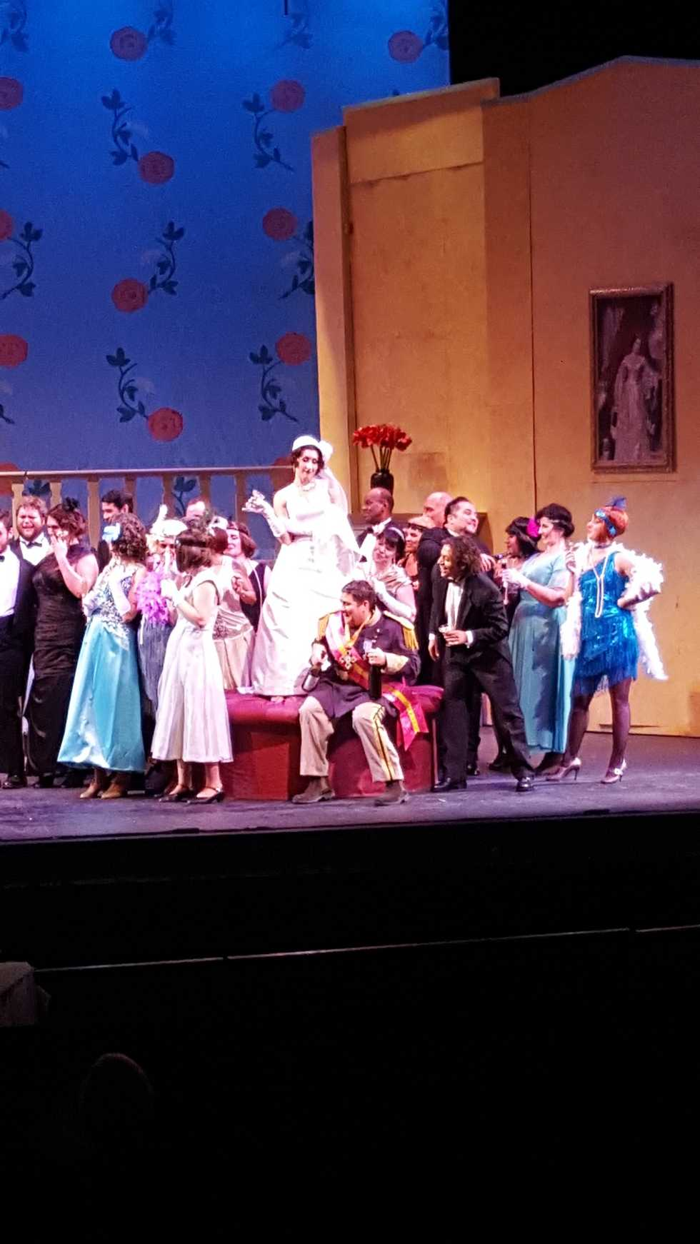 A scene from the Wichita Grand Opera production of Grand Duchess Of Gerolstein.